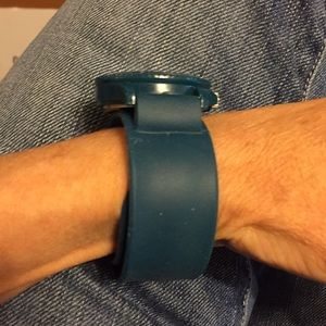 Rumba Accessories - Beautiful Rumba turquoise flex band watch